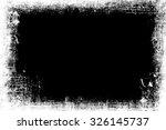 grunge background. grunge frame.... | Shutterstock . vector #326145737