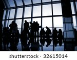 the silhouette of a building... | Shutterstock . vector #32615014