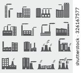building icons | Shutterstock .eps vector #326167577
