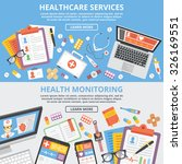 healthcare services  health... | Shutterstock . vector #326169551