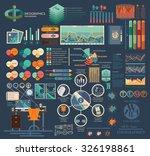 infographics for the designers... | Shutterstock .eps vector #326198861