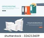 vector illustration. flat... | Shutterstock .eps vector #326213609