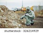 scientist dosimetrist ... | Shutterstock . vector #326214929