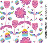 colorful floral seamless... | Shutterstock .eps vector #326220344