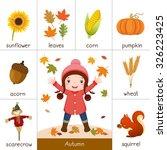 illustration of printable... | Shutterstock .eps vector #326223425