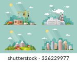 set of icons for your design.... | Shutterstock .eps vector #326229977