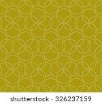 seamless circle pattern. vector ... | Shutterstock .eps vector #326237159