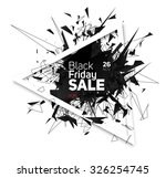 black friday sale. abstract...   Shutterstock .eps vector #326254745