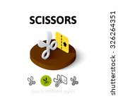 scissors icon  vector symbol in ...