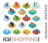 flat 3d isometric trendy style... | Shutterstock .eps vector #326276141
