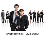 young attractive business... | Shutterstock . vector #3263050