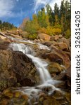 Small photo of Alluvial Falls in Rocky Mountain National Park