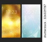 mobile interface wallpaper...