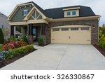 new suburban house | Shutterstock . vector #326330867