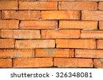 brick wall   Shutterstock . vector #326348081