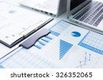 showing business and financial... | Shutterstock . vector #326352065