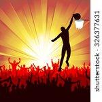 basketball player  | Shutterstock .eps vector #326377631