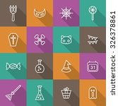 a set of vector icon for... | Shutterstock .eps vector #326378861
