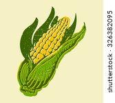 corn | Shutterstock .eps vector #326382095