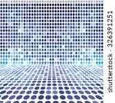 blue dot empty perspective... | Shutterstock . vector #326391251
