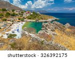 kokkala beach  mania peninsula  ... | Shutterstock . vector #326392175