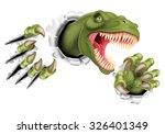 A T Rex Tyrannosaurus Rex...