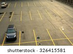 aerial view of a parking lot... | Shutterstock . vector #326415581