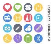 medical icons set   Shutterstock .eps vector #326426534
