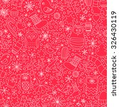christmas seamless pattern.... | Shutterstock .eps vector #326430119