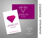 jewelry boutique   template... | Shutterstock .eps vector #326430515