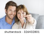 cheerful thirty year old ... | Shutterstock . vector #326432801