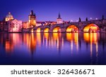 Charles Bridge Water Reflectio...