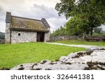 Old  Stone House Surrounded By...