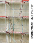 Scaffolding  Construction Site...