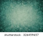 teal christmas background with... | Shutterstock . vector #326459657