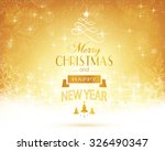 abstract festive background... | Shutterstock .eps vector #326490347