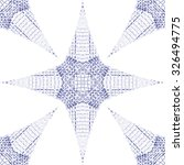 blue 3d stars background ... | Shutterstock .eps vector #326494775