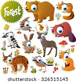 Cute Woodland Forest Animals...