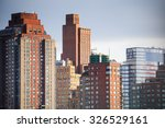 new york  usa   sep 25  2015 ... | Shutterstock . vector #326529161