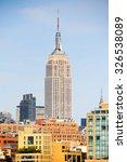 new york  usa   sep 25  2015 ... | Shutterstock . vector #326538089