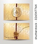 Invitation Gold Envelope With...