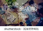 branding marketing advertising... | Shutterstock . vector #326559401