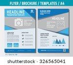 flyer multipurpose design... | Shutterstock .eps vector #326565041