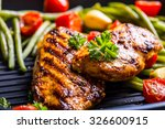 Grilled Chicken Breast In...