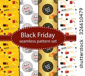 black friday seamless pattern... | Shutterstock .eps vector #326610479
