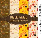 black friday seamless pattern... | Shutterstock .eps vector #326610485