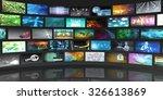 video screens abstract... | Shutterstock . vector #326613869