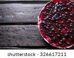 Homemade Blueberry Cheesecake