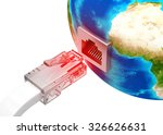 network connection concept | Shutterstock . vector #326626631