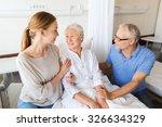 medicine  support  family... | Shutterstock . vector #326634329
